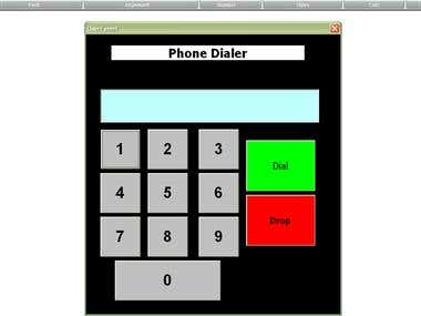 Excel Phone Dialer