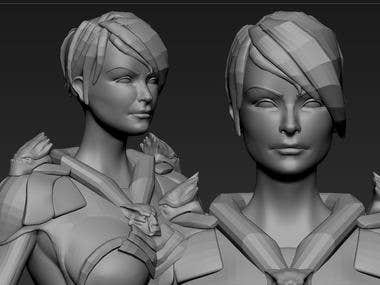 Character modeling 2