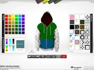 Hoodie design experience