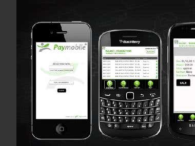Mobile Application for Paymobile Inc.