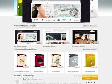 Magento extensions, magento themes