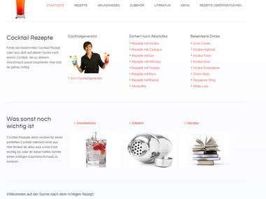 cocktail-profi.com redesign be me!