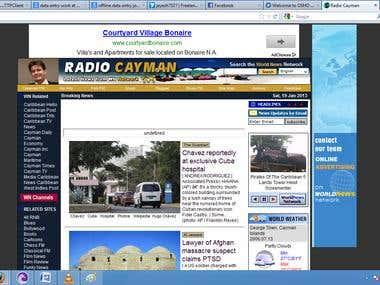 Radiocayman Site