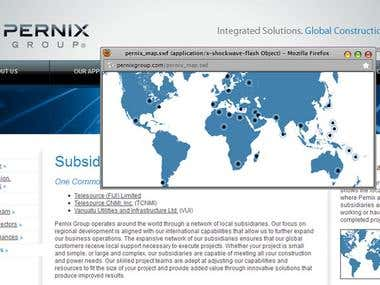 Pernix Group Flash Map