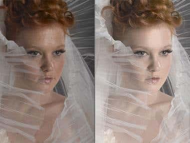 Wedding, Fashion, Natural Skin Work,, Toning, Correction