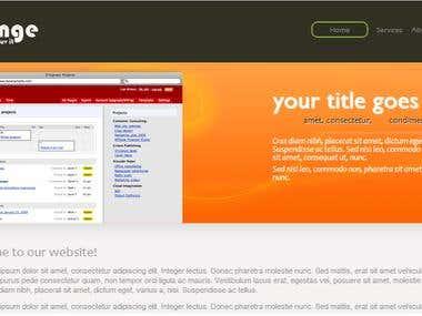 CSS3 HTML5 Page Screenshot