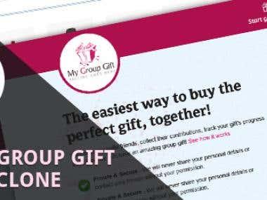 Ebay Groupgift Clone Script