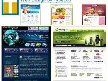 Website Designs by Type108