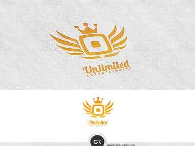 Unlimited entertainment logo design