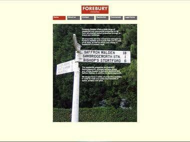 Forebury estates
