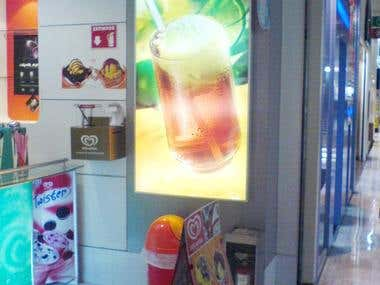 anuncio Back light