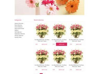 Flowerstores eCommerece