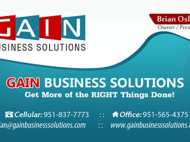 Gain Business Solution