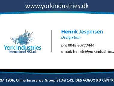 BusinessCard-York