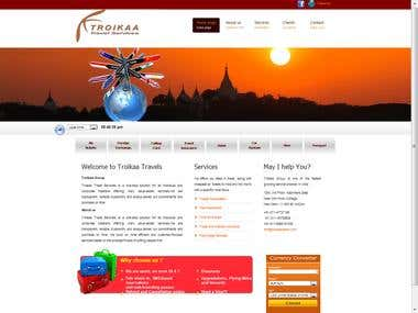 CSS Template Site