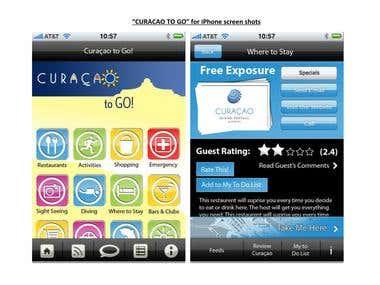 Curacao To Go (iPhone, iPad) app