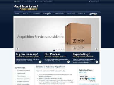 Authorized Acquisitions - Magento based eCommerce store