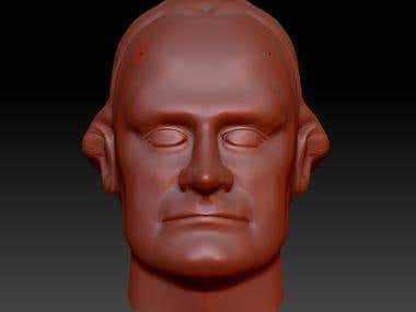 3D human head from picture- 3D printing