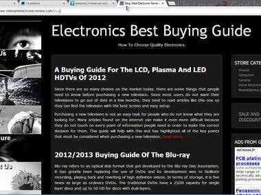 Affiliate Marketing Site
