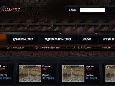 Game Servers Monitoring System