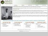 Webpage Houten Corp