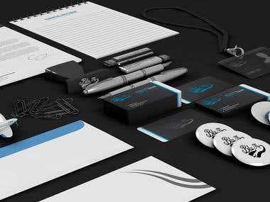 Aero club branding.