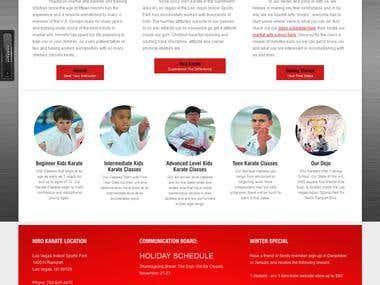 Hiro Karate martial arts classes