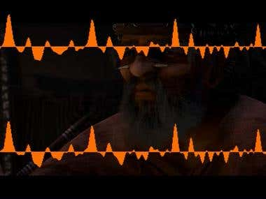 Dynamic Audio Visualization