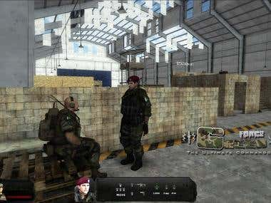 Green Force FPS Game