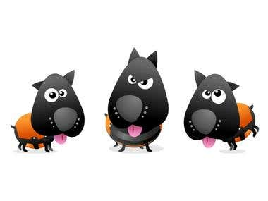funny cartoon vector