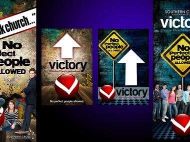 Winning Entry for Victory Christian Church International