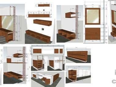 Built in Furniture Details