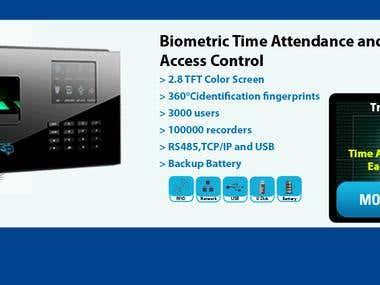 Re: finger print time recorder