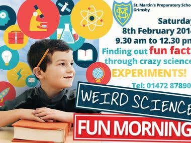 Flyer - Science Mornings