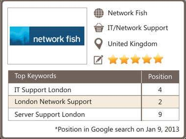SEO for IT Support London