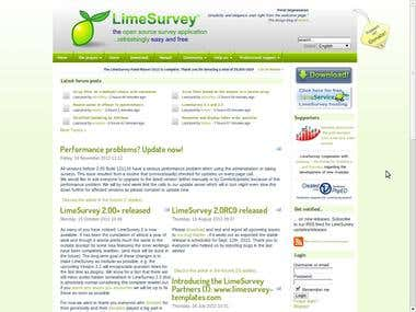 LimeSurvey Customization