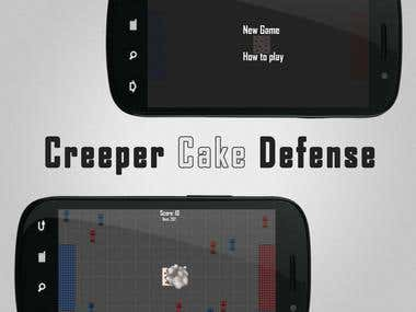Creeper Cake Defense