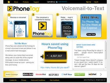 http://www.phonetag.com/ (convert voicemail to text)