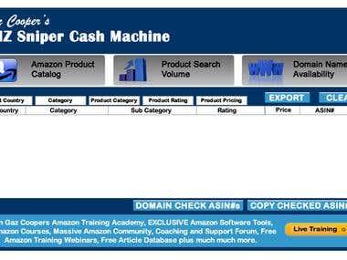 Amazon Cash Machine