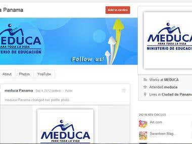 Google Plus for Ministry of Education - Panama |MEDUCA|