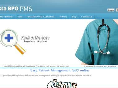 eVista SaaS Based Practice Management System