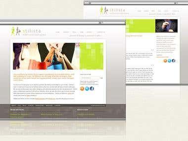 Stilista - presentation website