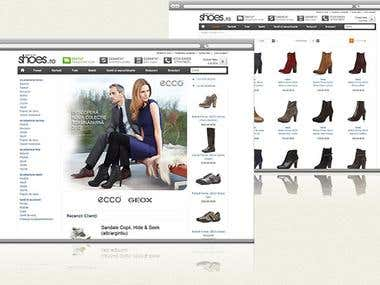 Shoes - online store