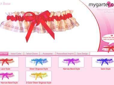 My Garter Designer Application