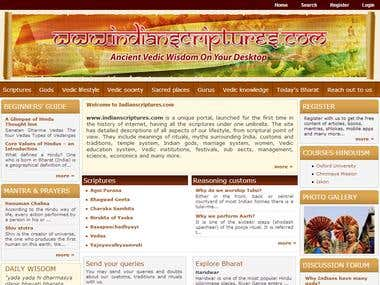 Indian Scriptures - Ancient Vedic Wisdom on your Desktop