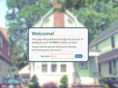 Homeowner Account Registration