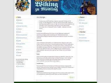 German Website Project