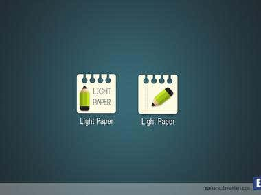 LightPaper IconApp