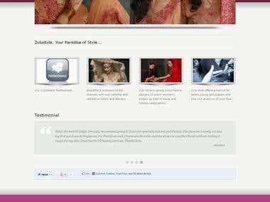 Beauty & Bridal Websites - WordPress