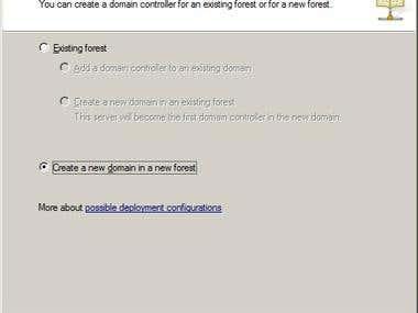 Create Windows Domain